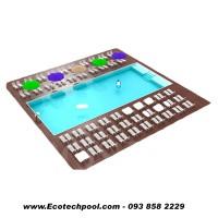 nhận làm hồ bơi composite