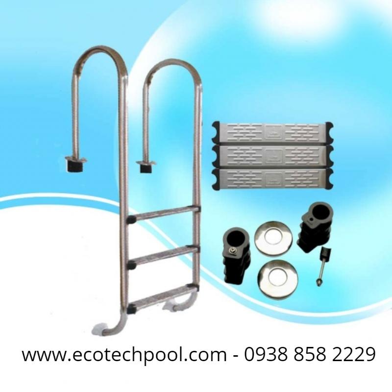 cầu thang hồ bơi cao cấp